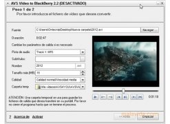 AVS Video to BlackBerry imagen 2 Thumbnail