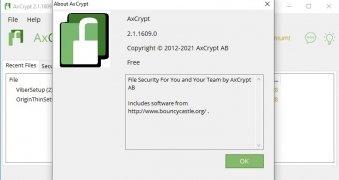 AxCrypt image 5 Thumbnail