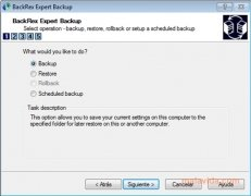 BackRex Expert Backup imagen 1 Thumbnail