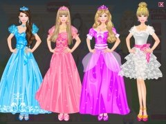 Barbie Princess Dress Up imagen 3 Thumbnail