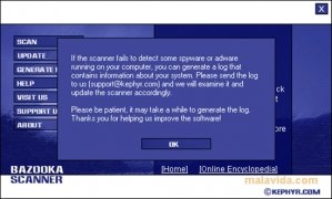 Bazooka Adware and Spyware Scanner immagine 2 Thumbnail