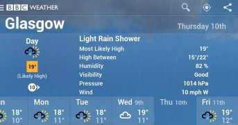 BBC Weather imagen 4 Thumbnail