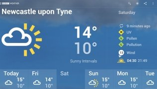 BBC Weather imagen 8 Thumbnail