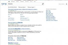 Bing  20090601 Español imagen 3