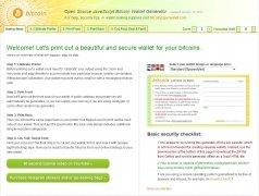 Bitcoin Paper Wallet Generator imagen 1 Thumbnail