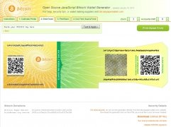 Bitcoin Paper Wallet Generator immagine 3 Thumbnail
