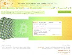 Bitcoin Paper Wallet Generator immagine 4 Thumbnail