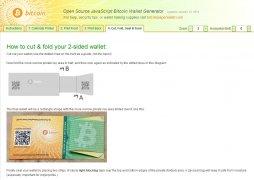Bitcoin Paper Wallet Generator bild 5 Thumbnail