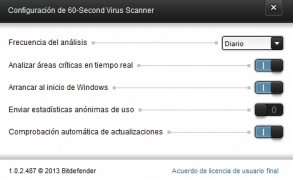Bitdefender 60-Second Virus Scanner immagine 2 Thumbnail