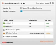 BitDefender Security Scan imagem 2 Thumbnail