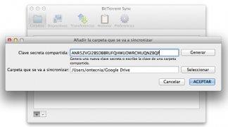BitTorrent Sync imagem 3 Thumbnail