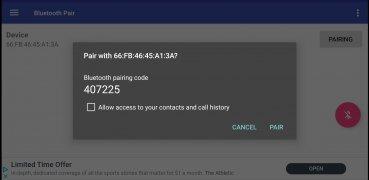 Bluetooth Pair imagem 1 Thumbnail