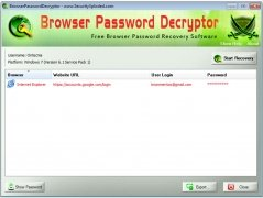 Browser Password Decryptor Изображение 1 Thumbnail
