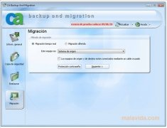 CA Backup and Migration imagen 2 Thumbnail