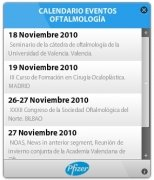 Calendario Eventos Oftalmología imagen 1 Thumbnail