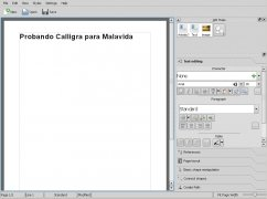 Calligra imagen 4 Thumbnail