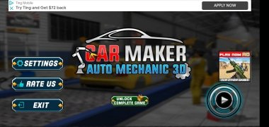 Car Maker Auto Mechanic 3D imagen 2 Thumbnail