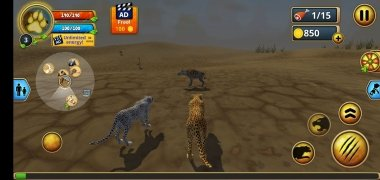 Cheetah Family Sim imagen 1 Thumbnail