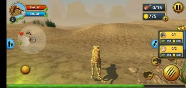 Cheetah Family Sim imagen 6 Thumbnail