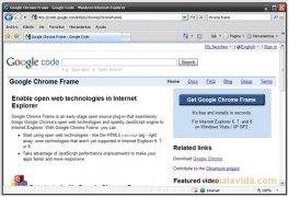 Chrome Frame imagem 3 Thumbnail