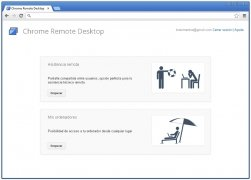 Chrome Remote Desktop imagem 3 Thumbnail