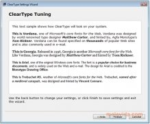 ClearType Tuner image 3 Thumbnail