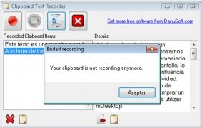 Clipboard Text Recorder immagine 3 Thumbnail