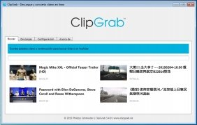 ClipGrab imagem 1 Thumbnail
