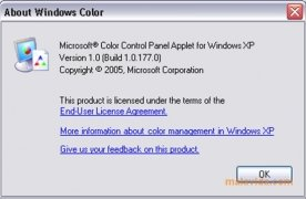 Color Control Panel Applet image 4 Thumbnail