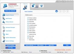 Comodo System Cleaner Изображение 2 Thumbnail