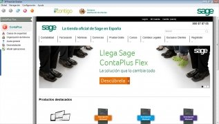 Sage ContaPlus  Flex Nuevo Español imagen 1