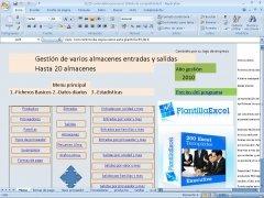 Control varios almacenes Excel imagen 1 Thumbnail
