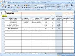 Control varios almacenes Excel imagen 2 Thumbnail
