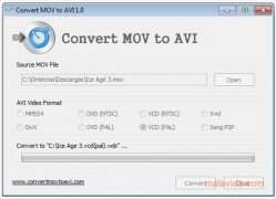 Convert MOV to AVI immagine 2 Thumbnail