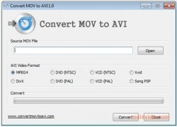 Convert MOV to AVI immagine 3 Thumbnail
