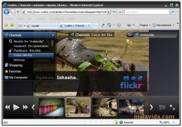 Cooliris Internet Explorer bild 4 Thumbnail