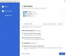 Copia de seguridad y sincronización de Google imagen 4 Thumbnail