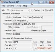 Core Temp Изображение 2 Thumbnail