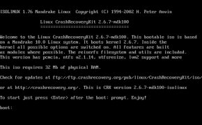 Crash Recovery Kit for Linux image 1 Thumbnail