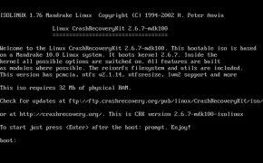Crash Recovery Kit for Linux imagem 1 Thumbnail