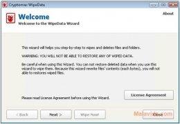 Cryptomax WipeData Изображение 7 Thumbnail