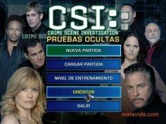 CSI Pruebas Ocultas  Demo Español imagen 1