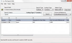 Csv File Search immagine 2 Thumbnail