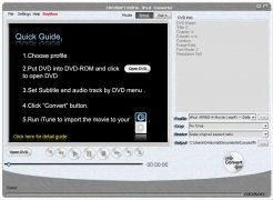 Cucusoft DVD to iPod Converter bild 4 Thumbnail