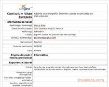 Curriculum Vitae Europeo image 1 Thumbnail
