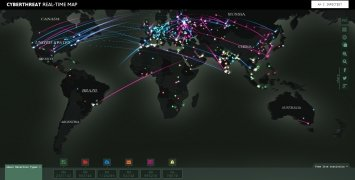 Cyberthreat Real-time Map imagen 3 Thumbnail