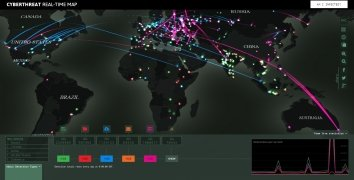 Cyberthreat Real-Time Map bild 4 Thumbnail
