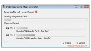 dBpoweramp Music Converter immagine 3 Thumbnail