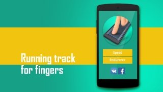 Fingers running track immagine 1 Thumbnail