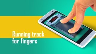 Fingers running track immagine 2 Thumbnail